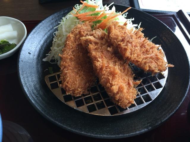 新潟市東区にあるとんかつどれ味でランチした