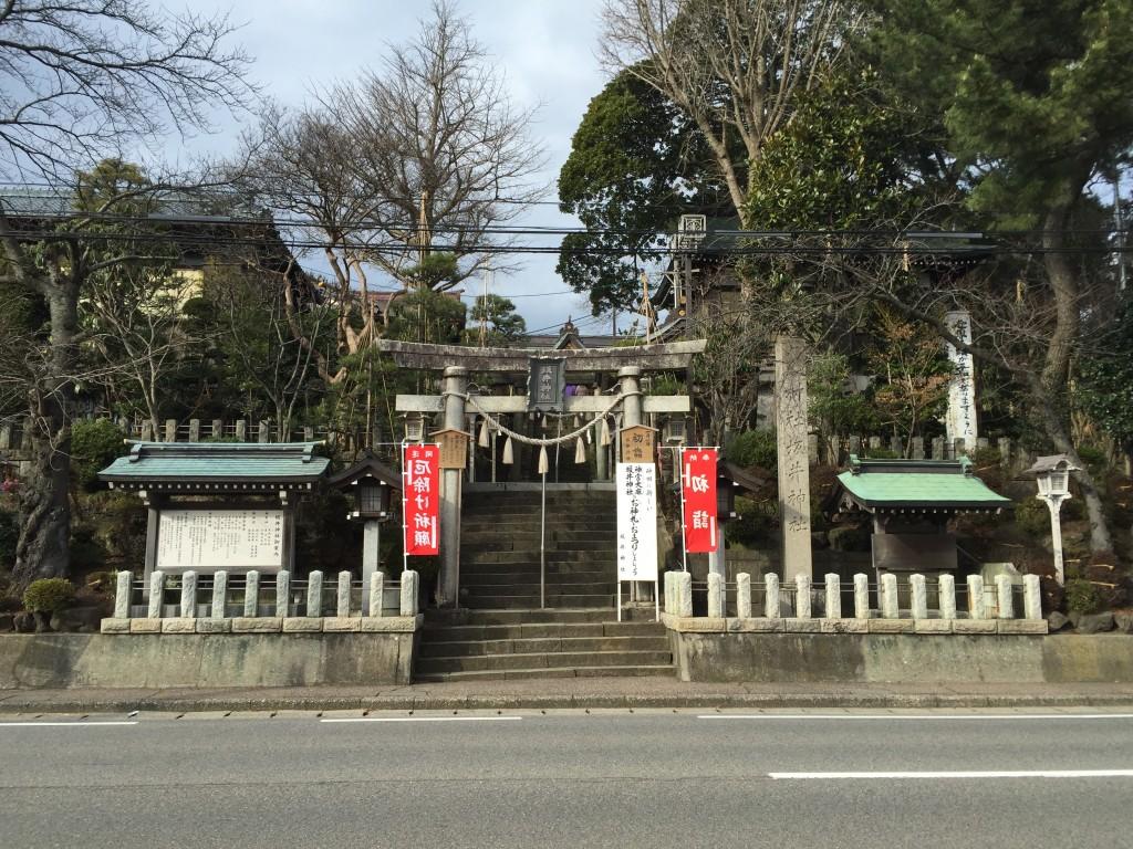 新潟市西区の坂井神社に行ってきた