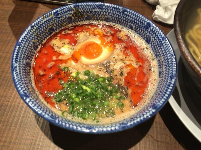 新潟市東区にあるら麺ノリダーでつけ麺食べた