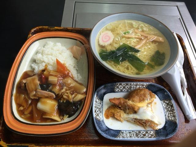 新潟市西区にある味の家でランチした