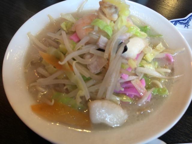 新発田市で本場の長崎ちゃんぽんを長崎楼で食べてきた