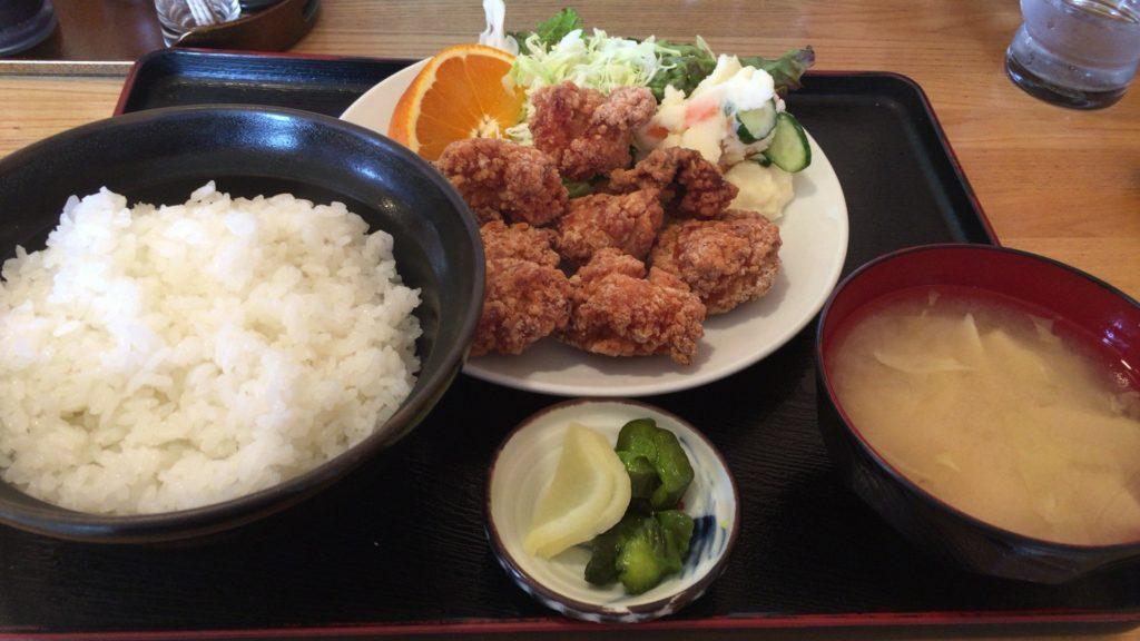 亀田にある太和良食堂のごはんが美味しかった