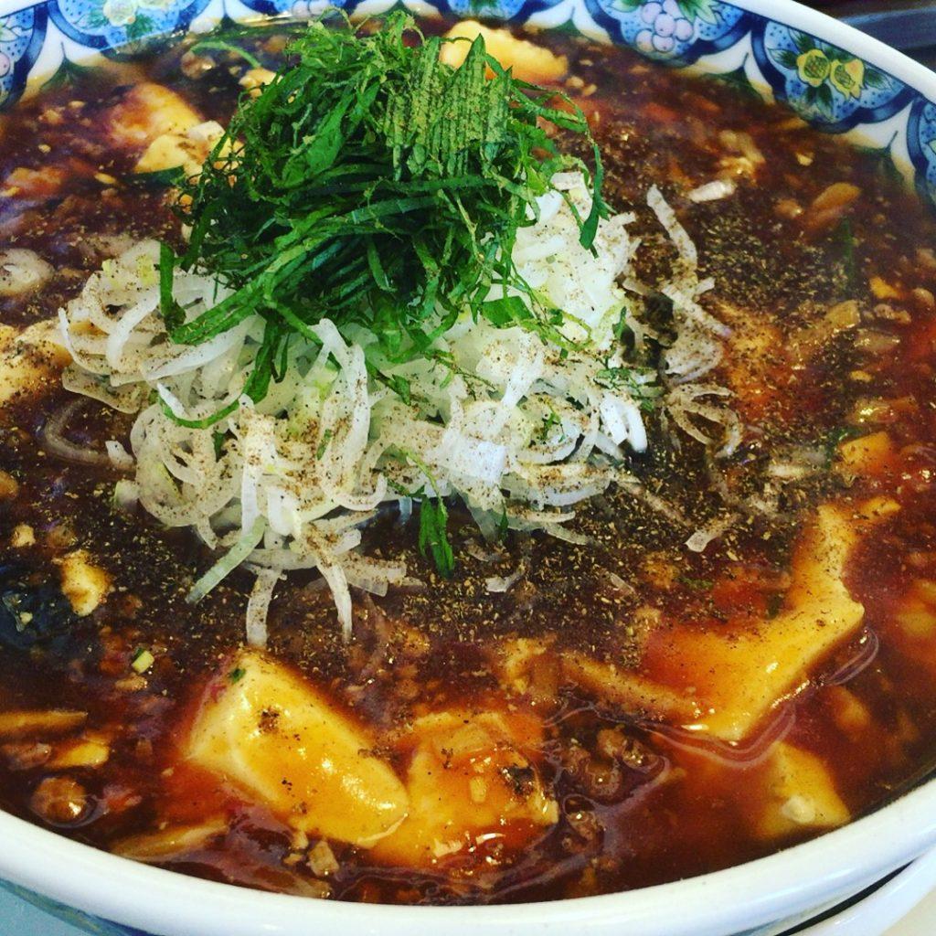 東区にオープンした麺屋 愛心 Aishinで麻婆麺食べた