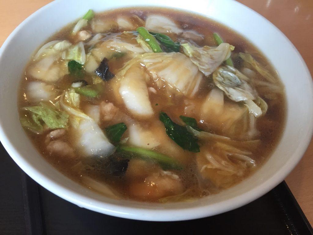 東区にある中華料理の月園でランチした