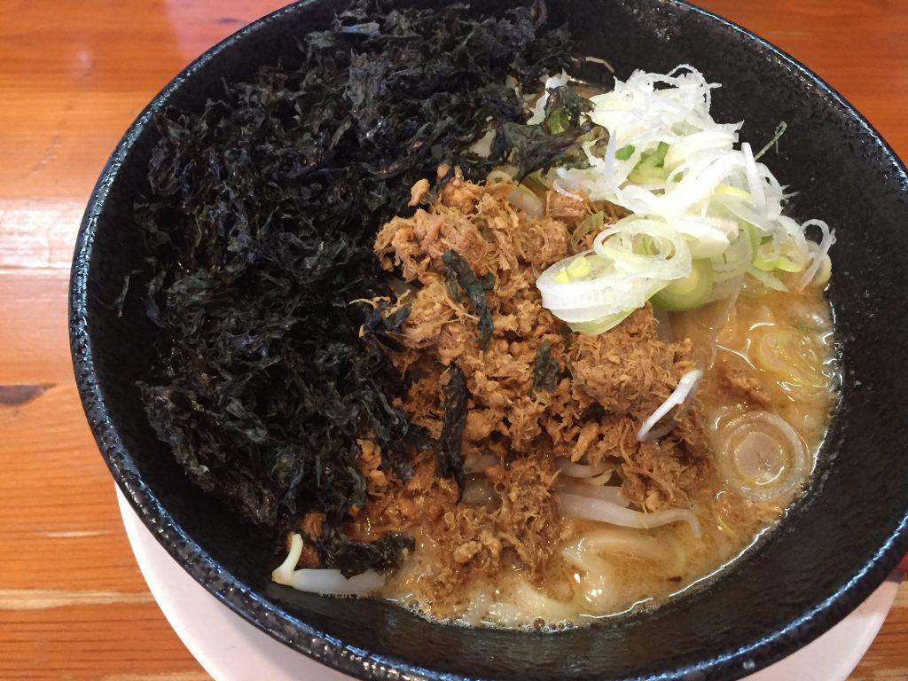【閉店】新潟市西区のなおじ新大前店でみそらーめん食べた