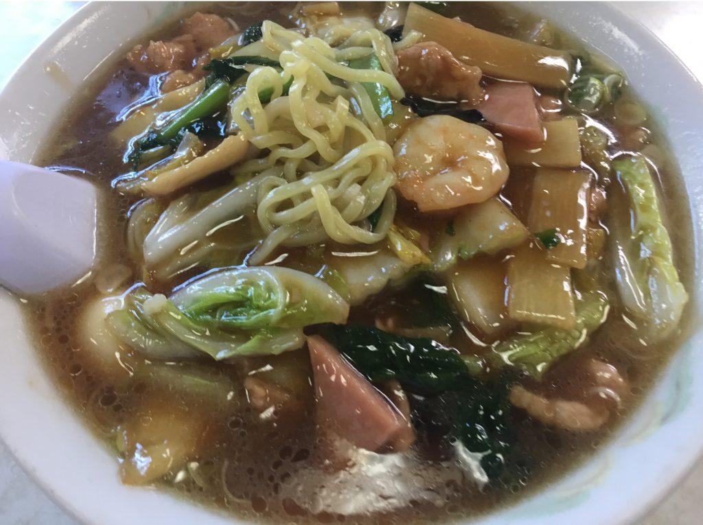 新潟市東区にある三都でラーメン食べた
