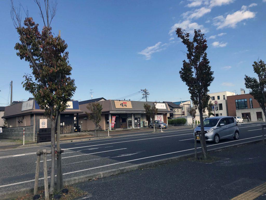 新潟市西区にあるらあめん優雅が移転していた