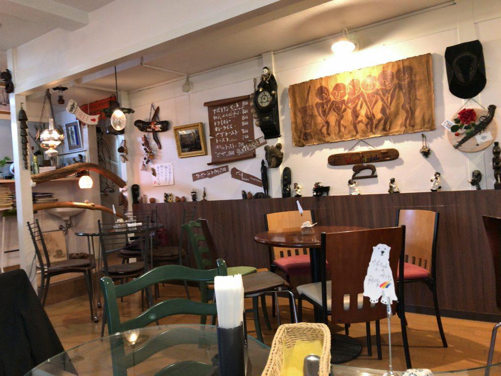 新潟市中央区にあるコーヒーどん底でランチした