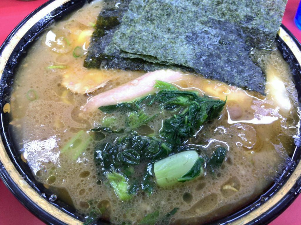 新潟県上越市にある吉村家直系の上越家でらーめん食べた
