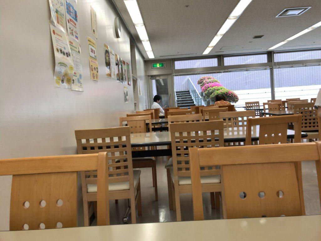 新潟市役所本館 食堂でカレー食べた