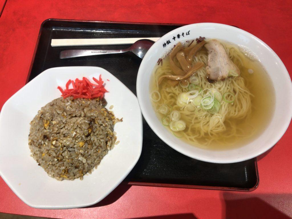 新潟市中央区のラーチャン家 バスセンター店でラーチャン食べてみた