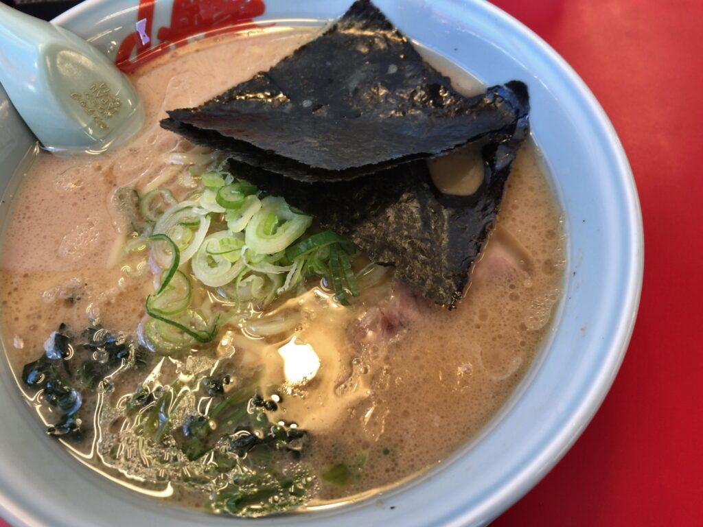 長岡市堺町にあるラーメン山岡家 長岡堺店で醤油ラーメン食べてみた